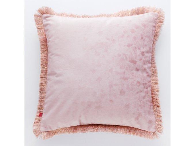 Polštář PELLICIA růžová 45x45 cm HOME & YOU