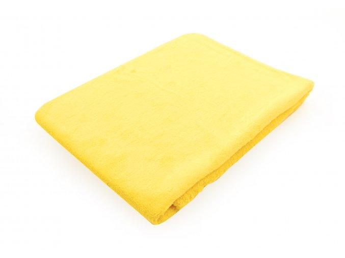 Dětská deka SUSSIE žlutá 75x100 cm Essex