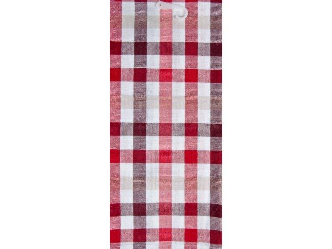 Utěrka COFFEE LOVE bavlněná, červená, 45x65 cm Essex