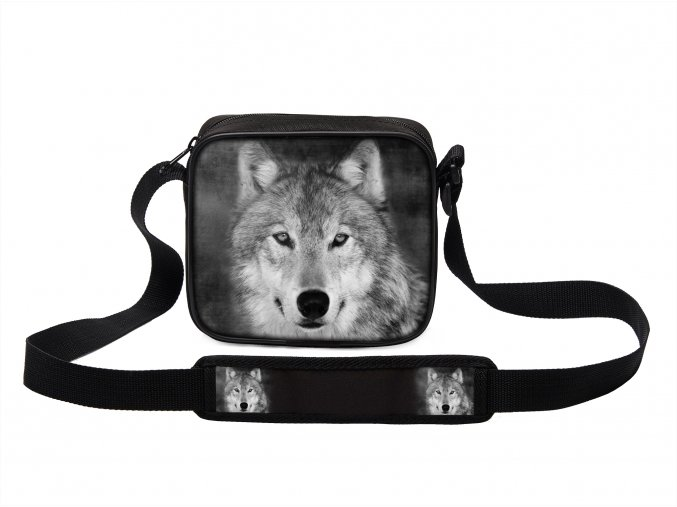 Taška přes rameno MINI s vlkem 15 MyBestHome 19x17x6 cm