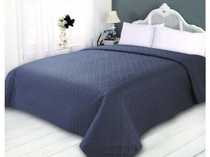 Přehoz na postel SONIC 220x240 cm šedá ESSEX