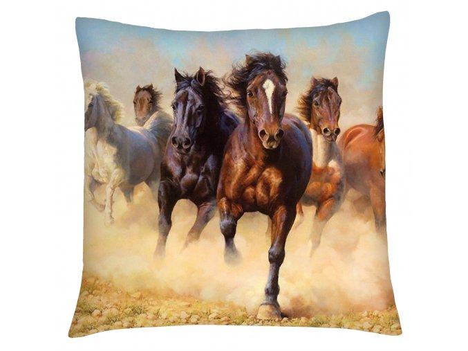 Polštář s motivem koně 02 Mybesthome 40x40 cm