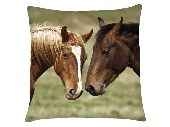 Polštář s motivem koně 06 Mybesthome 40x40 cm
