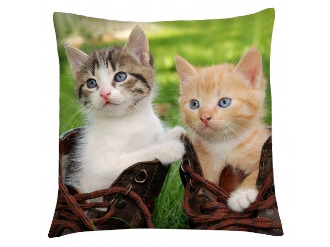 Polštář s motivem kočky 04 Mybesthome 40x40 cm