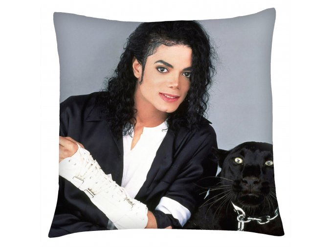 Polštář Michael Jackson 01 Mybesthome 40x40 cm