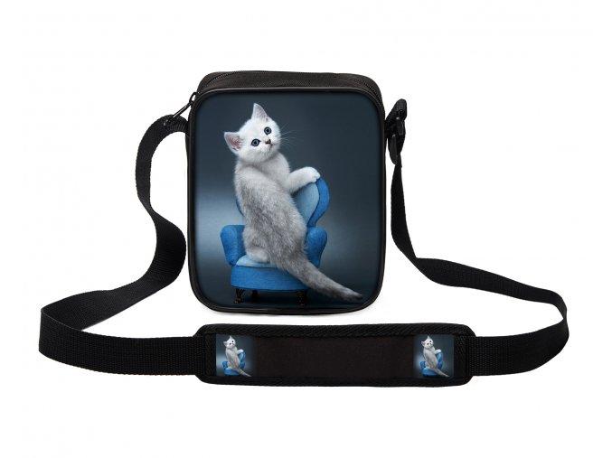 Taška přes rameno MINI kočky 08 MyBestHome 19x17x6 cm