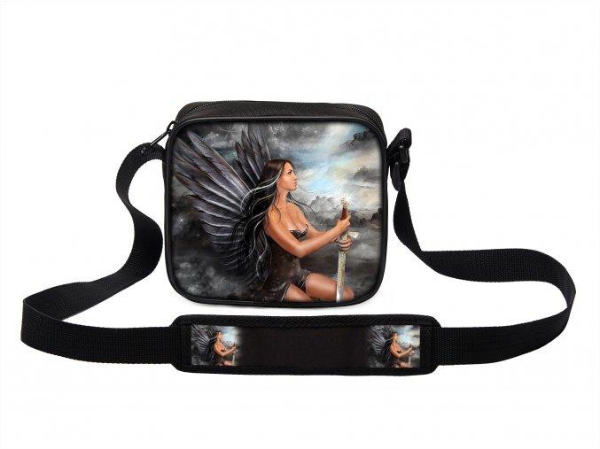 Taška přes rameno MINI andělé 06 MyBestHome 19x17x6 cm