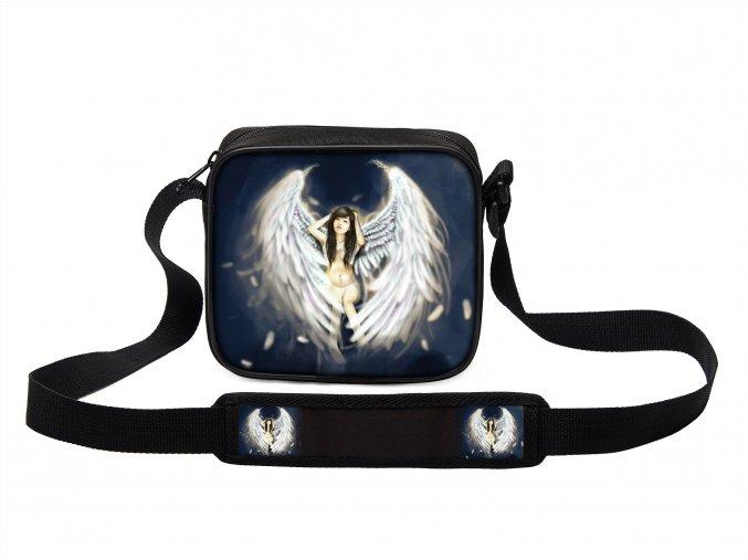 Taška přes rameno MINI andělé 07 MyBestHome 19x17x6 cm