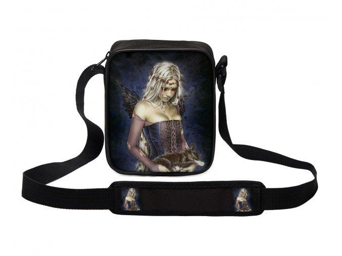 Taška přes rameno MINI andělé 08 MyBestHome 19x17x6 cm