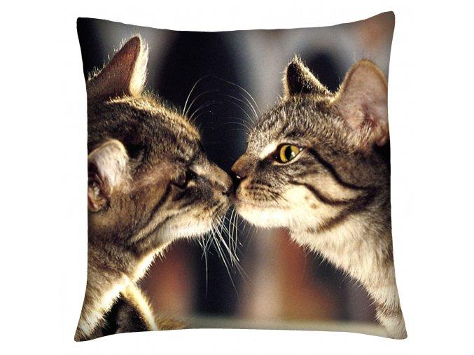 Polštář s motivem kočky 13 Mybesthome 40x40 cm
