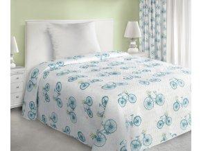 Přehoz na postel NATÁLIE 170x210 cm bílá Mybesthome