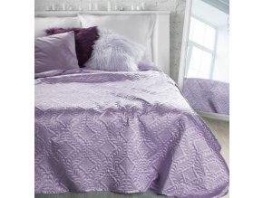 Přehoz na postel IRMA 220x240 cm fialová Mybesthome