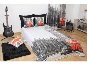 Přehoz na postel LONDON 160x200 cm Mybesthome