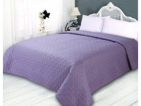 Kvalitní oboustranný přehoz na postel v moderním trendových barvách na dvoulůžko o rozměru 240x260 cm.