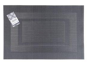 Prostírání SQUARE 30x45 cm šedá Essex