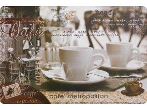 Prostírání METROPOLITAN 30x44 cm kávový motiv Mybesthome