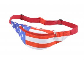 Stylová univerzální ledvinka 32 USA FLAG MyBestHome 22x11x7 cm
