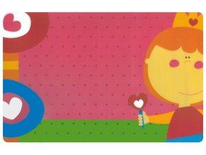 Prostírání pro děti PRINCEZNA 29x43 cm Mybesthome