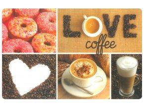 Prostírání COFFEE LOVE 29x43 cm Mybesthome