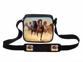 Taška přes rameno MINI s koněm 04 MyBestHome 19x17x6 cm