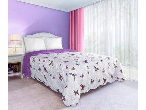 Přehoz na postel SPIRIT 220x240 cm bílá Mybesthome