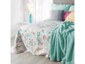 Přehoz na postel MAURICE 220x240 cm béžová Mybesthome