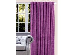 Dekorační závěs VICTOR 140x260 cm, violet, MyBestHome