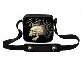Taška přes rameno MINI Punk Lebka MyBestHome 19x17x6 cm