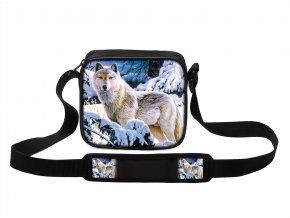 Taška přes rameno MINI s vlkem 09 MyBestHome 19x17x6 cm