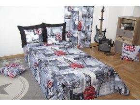 Přehoz na postel LONDON II. 160x210 cm Mybesthome