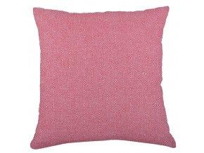 Bavlněný polštář ZIGGY červená 45x45 cm Essex