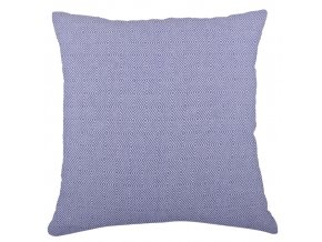 Bavlněný polštář ZIGGY modrá 45x45 cm Essex