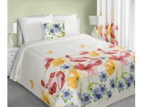 Přehoz na postel ALRIK 220x240 cm bílá Mybesthome
