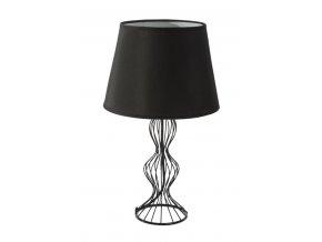 Stolní lampa BRIANA 20x20x44 cm černá Mybesthome