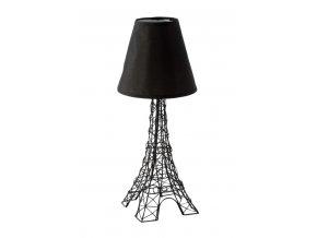 Stolní lampa PARIS 25x25x49 cm černá Mybesthome