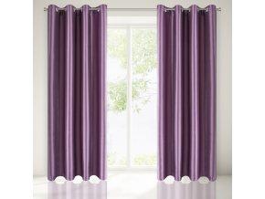 Dekorační závěs VALENCIA fialová 140x250 cm MyBestHome