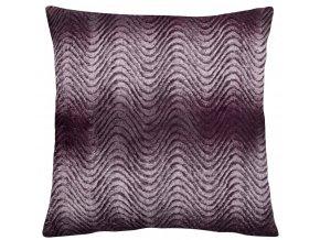 Polštář ALESUND fialová 45x45 cm mikrovlákno MyBestHome