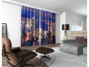 3D dekorační závěs 310V CITY 160x250 cm set 2 kusy MyBestHome