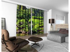 3D dekorační závěs 311V GARDEN 160x250 cm set 2 kusy MyBestHome
