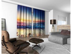 3D dekorační závěs 315V OCEAN 160x250 cm set 2 kusy MyBestHome