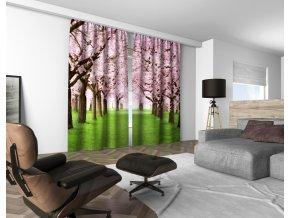 3D dekorační závěs 404V SPRING 160x250 cm set 2 kusy MyBestHome