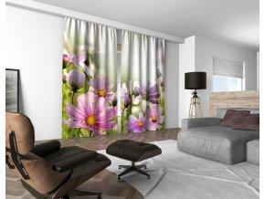 3D dekorační závěs 405V FIORI 160x250 cm set 2 kusy MyBestHome