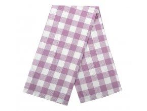 Utěrka HOWARD bavlněná, fialová, 100% bavlna, 45x65 cm Essex
