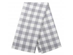 Utěrka HOWARD bavlněná, šedá, 100% bavlna, 45x65 cm Essex