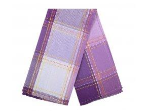 Utěrka FILIP bavlněná, fialová, 45x65 cm Essex