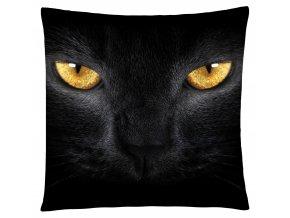 Polštář s motivem kočičích očí Mybesthome 40x40 cm
