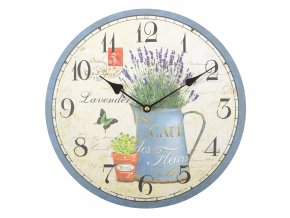 Nástěnné hodiny LAVANDA 07 34x4 cm Mybesthome