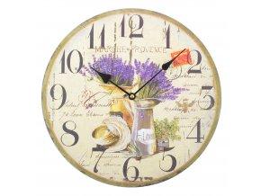 Nástěnné hodiny LAVANDA 08 34x4 cm Mybesthome