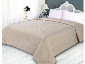 Přehoz na postel SONIC 240x260 cm smetanová ESSEX