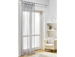 Dekorační záclona DIANA smetanová 140x245 cm MyBestHome